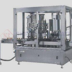 Rotary Monoblock Volumatric Liquid Filling Machine