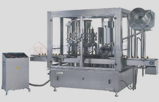 Rotary Monoblock Volumatric Liquid Filling Machine