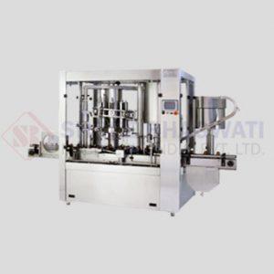 Rotary Monoblock Volumatric Capping Machine For Bottles