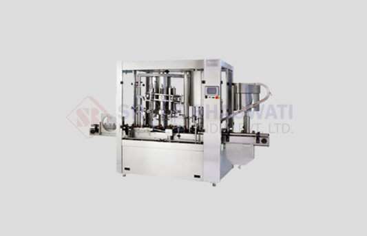 Rotary Monoblock Volumatric Capping Machine For Bottles