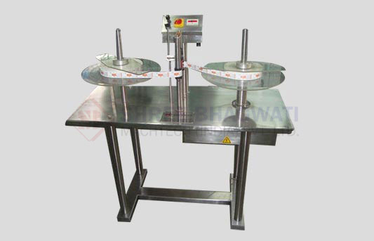 Automatic Label Roll Winding and Counting Machine