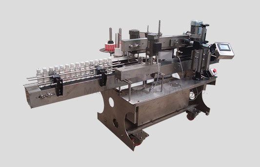 Automatic Single Side Flat Bottle Sticker Labelling Machine