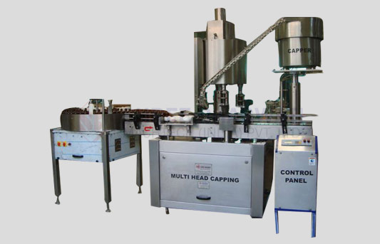 Eight Head Bottle ROPP Capping Machine