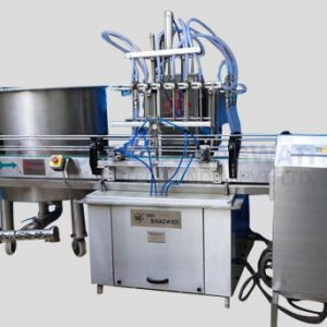 Eight Head Liquid Filling Machine for Bottles