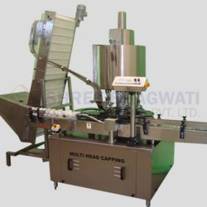 Eight Head Screw Capping Machine