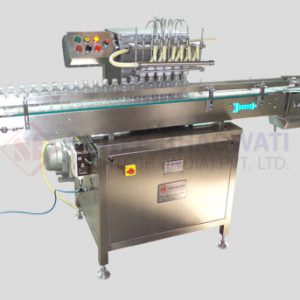Four And Six Head Air Jet Cleaning Machine
