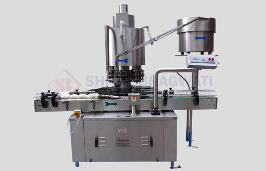 Four Head Bottle Screw Capping Machine