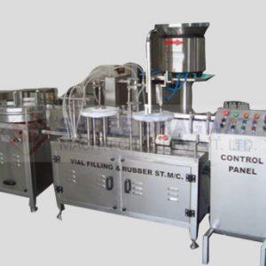 Four Head Liquid Filling Machine for Vials