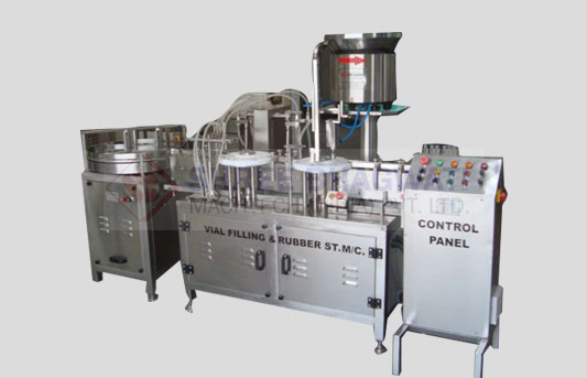 Four Head Liquid Filling Machine for Vials