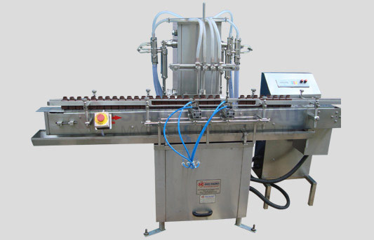 Four Head Liquid Filling Machine for Bottles