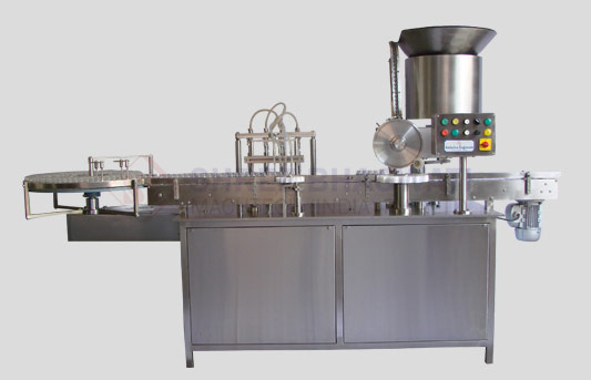 High Speed Rotary Volumatric Liquid Filling Machine For Bottles