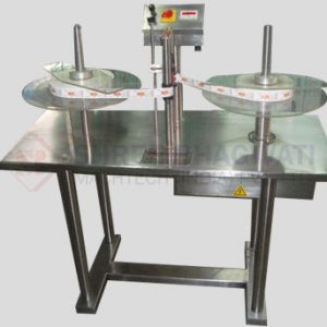 Label Roll Counting and Winding Machine