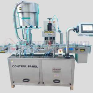 Single, Four And Eight Head Screw Capping Machine
