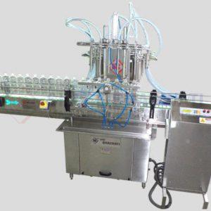 Six Head Liquid Filling Machine for Bottles