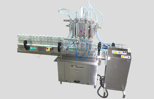 Six Head Liquid Filling Machine for Bottles