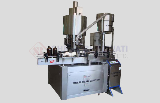 Ten Head Bottle ROPP Capping Machine