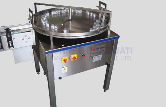 Turn Table – Packing Machine