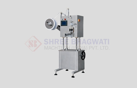 Twin Head Canister And Silica Gel Inserting Machine