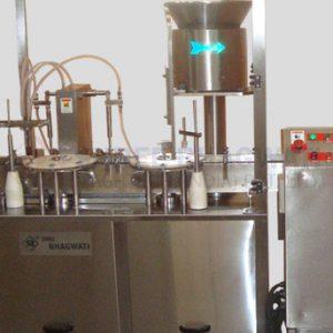 Twin Head Liquid Filling Machine for Vials