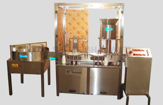 Twin Head Liquid Filling and Capping Machine for Vials