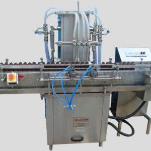 Volumatric Liquid Filling Machine For Bottles