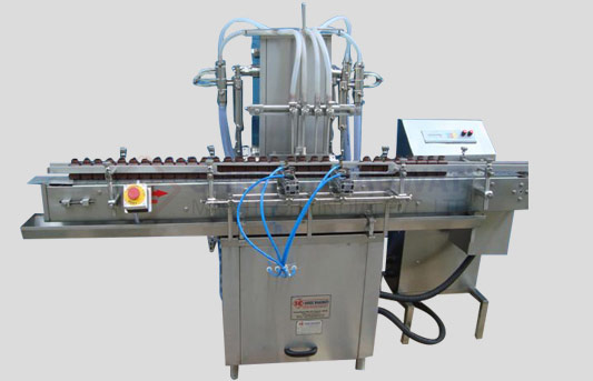 Volumatric Liquid Filling Machine For Bottles